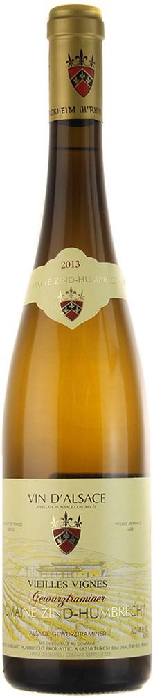 Domaine Zind-Humbrecht Gewurztraminer Vieilles Vignes 2013