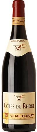 Vidal-Fleury Côtes du Rhône  2012