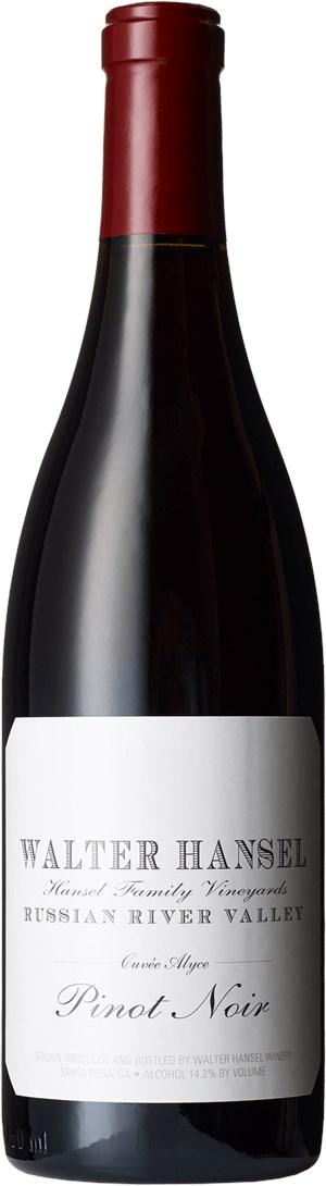 Walter Hansel Winery Pinot Noir Cuvee Alyce 2016