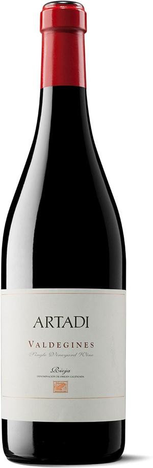 Bodegas Artadi Rioja Valdegines 2014