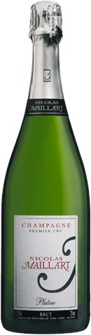 Champagne Nicolas Maillart Brut Millesime Premier Cru 2008