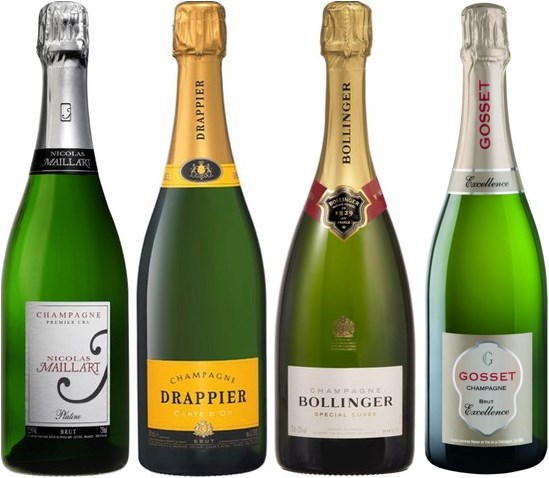 Winefinder Ursprungslåda Champagne