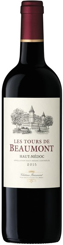 Chateau Beaumont Les Tours de Beaumont 2015