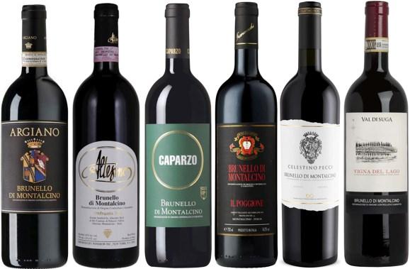 Winefinders Ursprungslåda Brunello di Montalcino