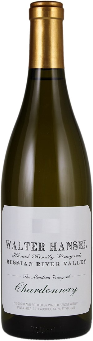 Walter Hansel Winery Chardonnay The Meadows 2015