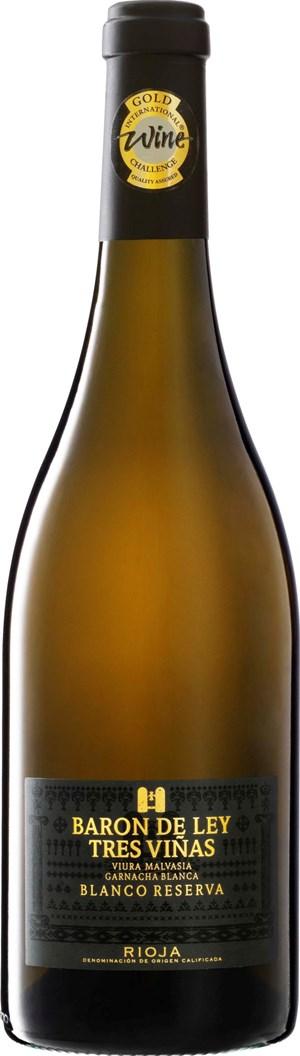 Baron de Ley Rioja Tres Viñas Blanco Reserva 2014