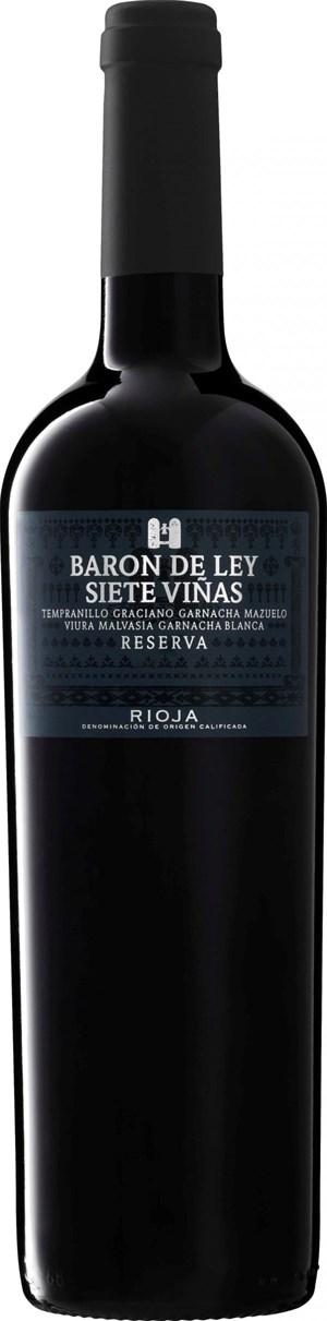 Baron de Ley Rioja Siete Viñas Reserva 2010