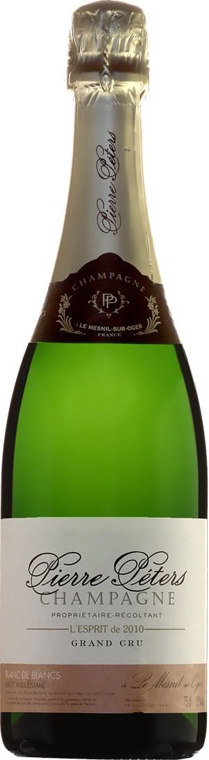 Pierre Péters Cuvée L´Esprit Blanc de Blancs Grand Cru Brut 2010