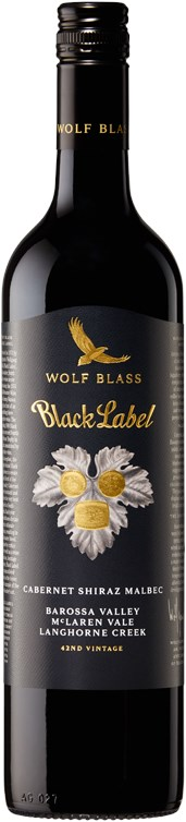 Wolf Blass Black Label Cabernet Shiraz Malbec 2013