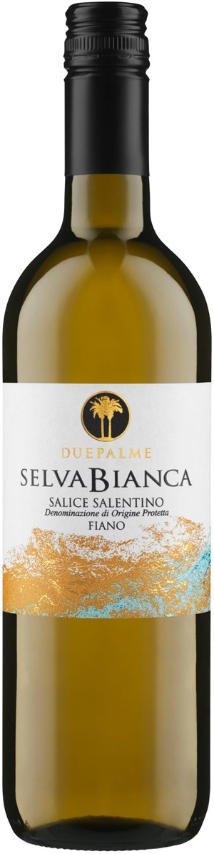 Cantine Due Palme Selvabianca Salice Salentino Fiano 2016