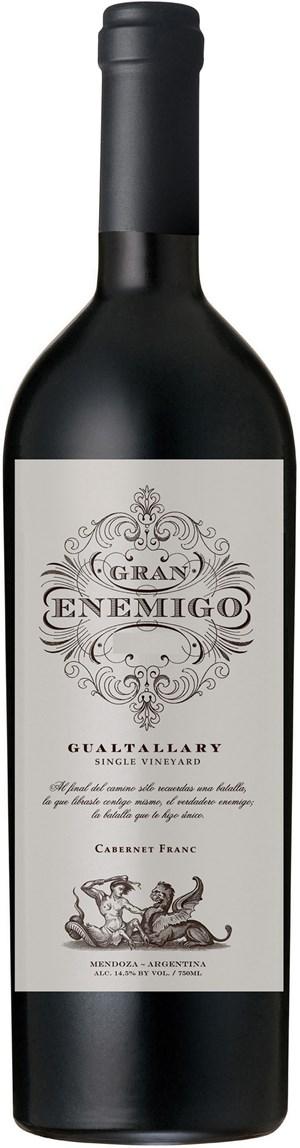 Bodega Aleanna El Gran Enemigo Single Vineyard Gualtallary 2012