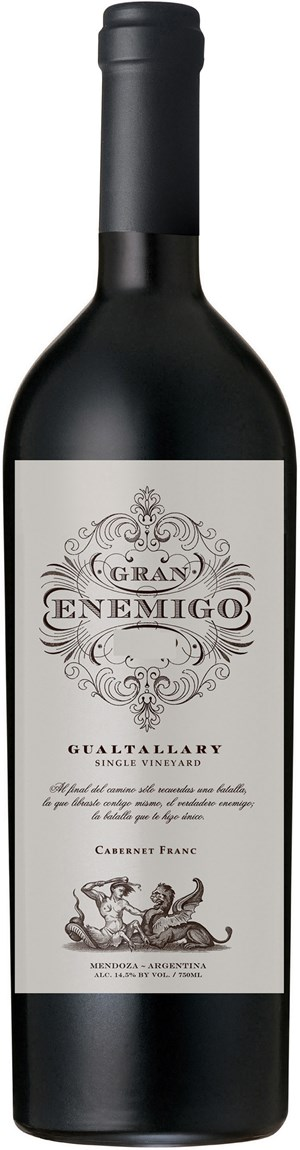 Bodega Aleanna El Gran Enemigo Single Vineyard Gualtallary 2015