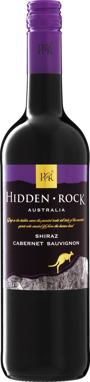 Enjoy Wines & Spirits Hidden Rock Shiraz Cabernet Sauvignon 2017