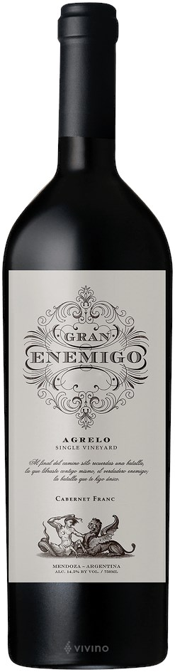 Bodega Aleanna Gran Enemigo Single Vineyard El Agrelo 2013