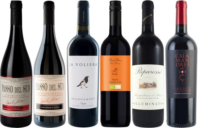 Winefinders Italienska favoriter