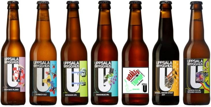 Uppsala Brygghus Blandlåda öl från Uppsala Brygghus Volym 1