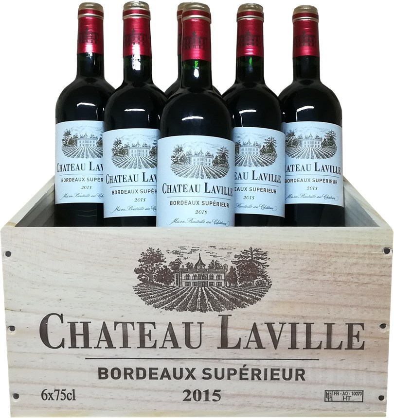 Chateau Laville Château Laville Bordeaux Supérieur 2015
