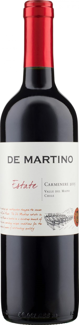 De Martino Estate Carmenère 2015