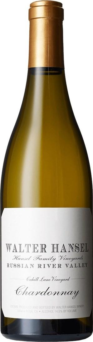 Walter Hansel Winery Cahill Lane Chardonnay 2016