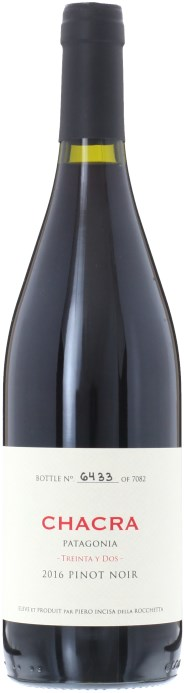 Bodega Chacra Treinta y Dos (1932) Pinot Noir 2017