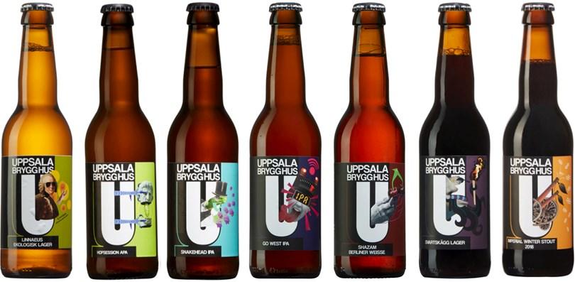Uppsala Brygghus Blandlåda öl från Uppsala Brygghus Volym 3
