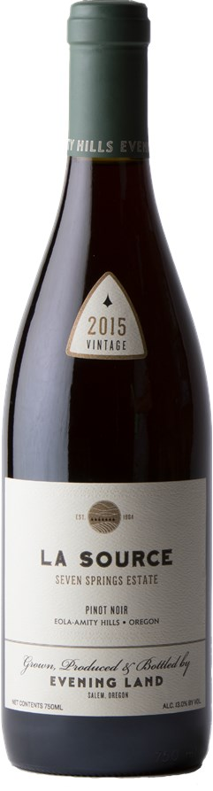 Evening Land Vineyards Seven Springs La Source Pinot Noir 2015