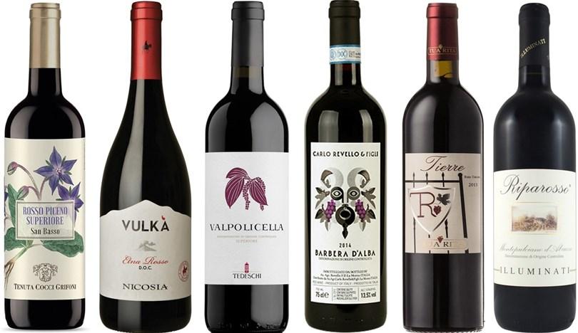 Winefinders Italien Runt - Röda Lådan