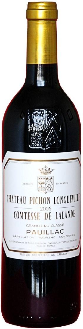 Pichon Longueville Comtesse de Lalande  2010