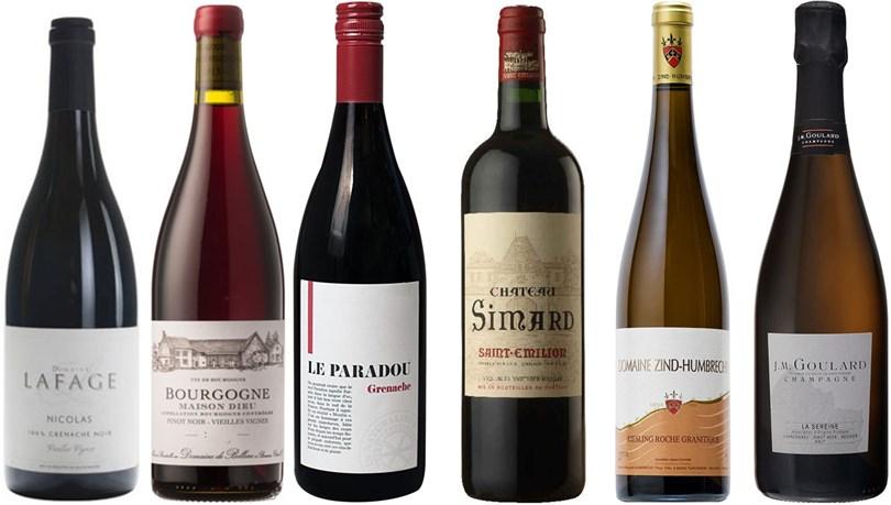 Winefinders Frankrike Runt - Blandade Lådan