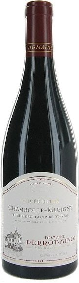 Domaine Perrot Minot Chambolle Musigny Ultra Combe d´Orveau 1e cru 2014