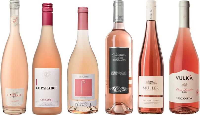 Winefinders Rosa Kundfavoriter 2019