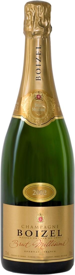 Champagne Boizel Brut Millésimé 2002