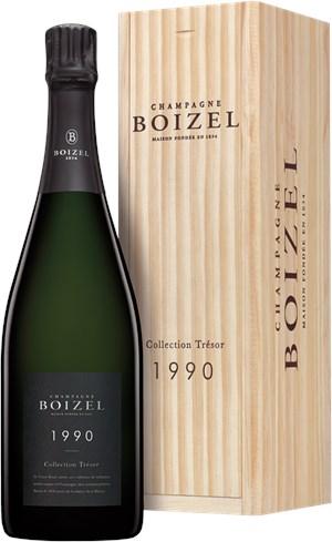 Champagne Boizel Collection Trésor 1990