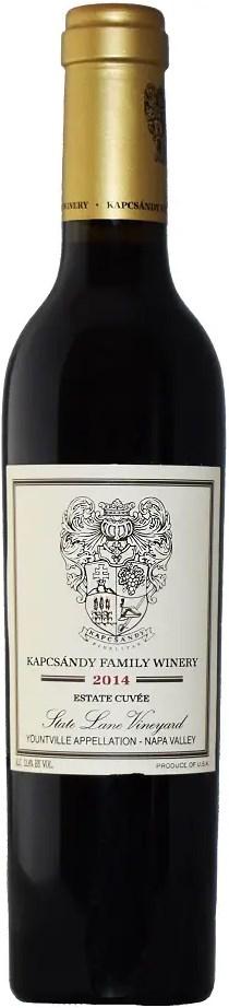 Kapcsándy Family Winery Estate Cuvée 375 ml 2014