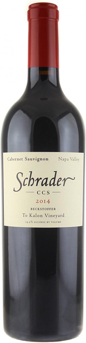 Schrader Cellars Cabernet Sauvignon CCS Beckstoffer To-Kalon Vineyard 2014