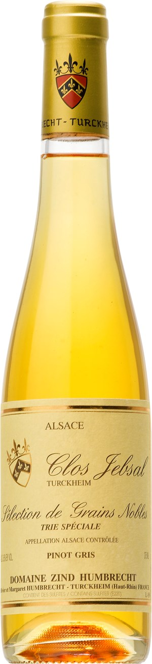 Domaine Zind-Humbrecht Pinot Gris Clos Jebsal SGN Trie Speciale 2010