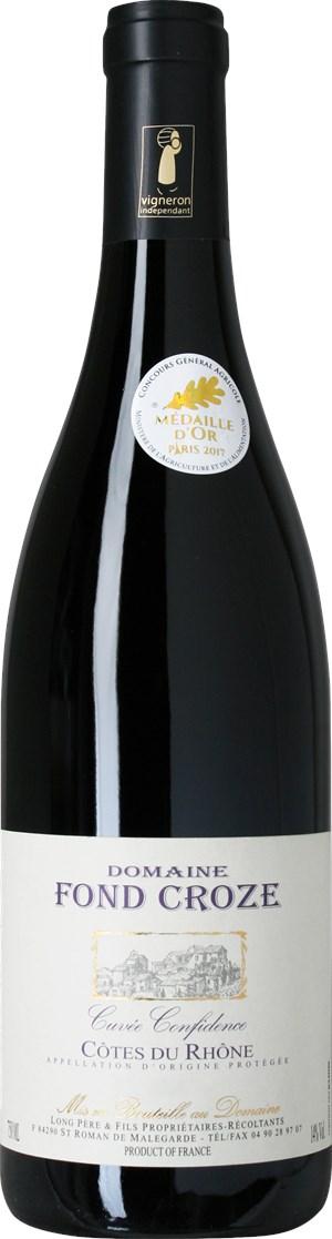 Domaine Fond Croze Côtes du Rhône Cuvée Confidence 2016