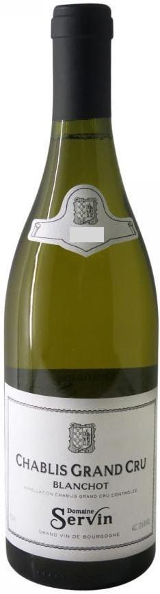 Domaine Servin Chablis Grand Cru Blanchot 2012