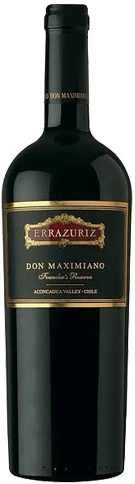 Vina Errazuriz Don Maximiano Founders Reserve 2015