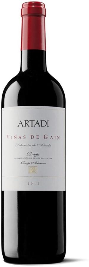 Bodegas Artadi Viñas de Gain  2012