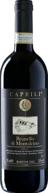 Az. Agr. Caprili Brunello di Montalcino  2012