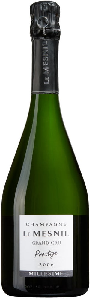 UPR Champagne Le Mesnil Grand Cru Blanc de Blancs Grand Cru Prestige 2006