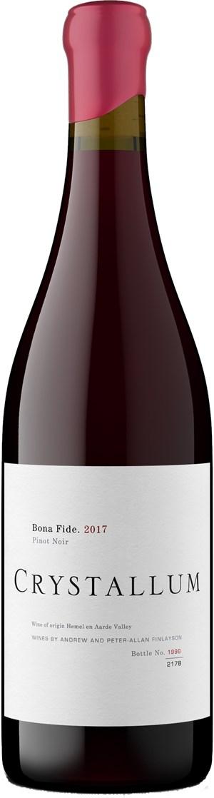 Crystallum Wines Bona Fide Pinot Noir 2017