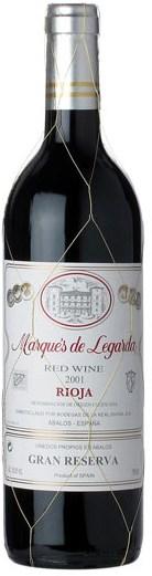 Marques de Legarda Rioja Gran Reserva 2001