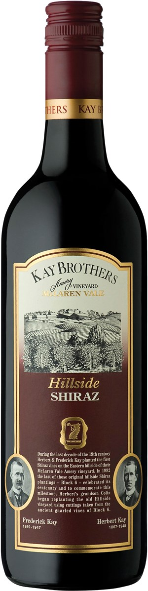 Kay Brothers Hillside Shiraz 2012