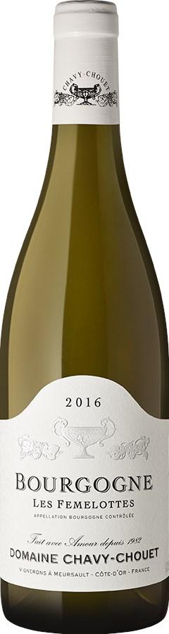 Domaine Chavy Chouet Bourgogne Blanc Les Femelottes 2018