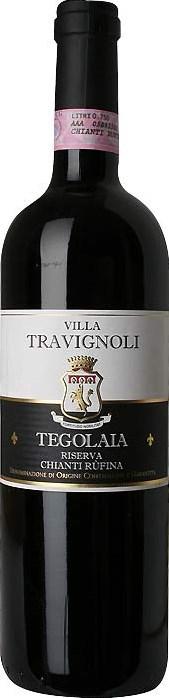 Fattoria Travigoli Villa Travignoli Tegolaia, Chianti Rùfina Riserva 2010