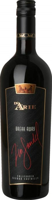 Di Arie Vineyards Zinfandel Break Away, C. G. Di Arie Estate 2009