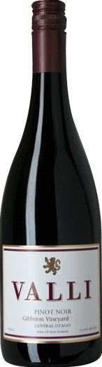 Valli Wine Valli Pinot Noir Gibbston 2012