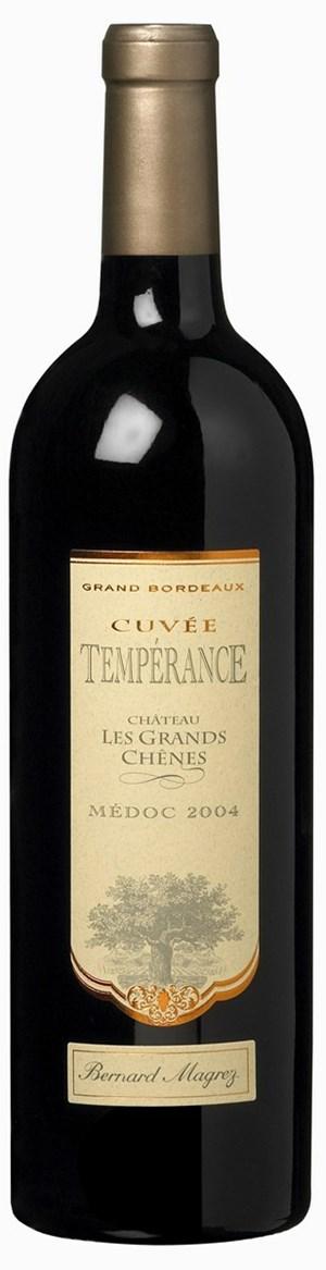 Bernard Magrez Temperance de Château les Grands Chenes AOP 2004